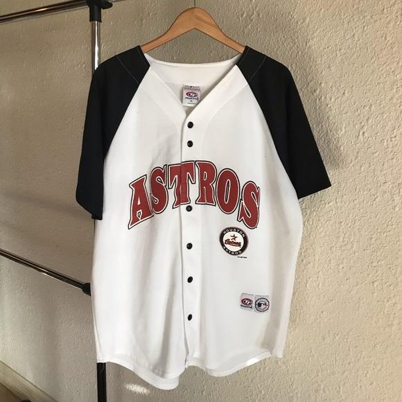 size 40 ba36d b29ac VTG 2002 Houston Astros Baseball Jersey T-Shirt